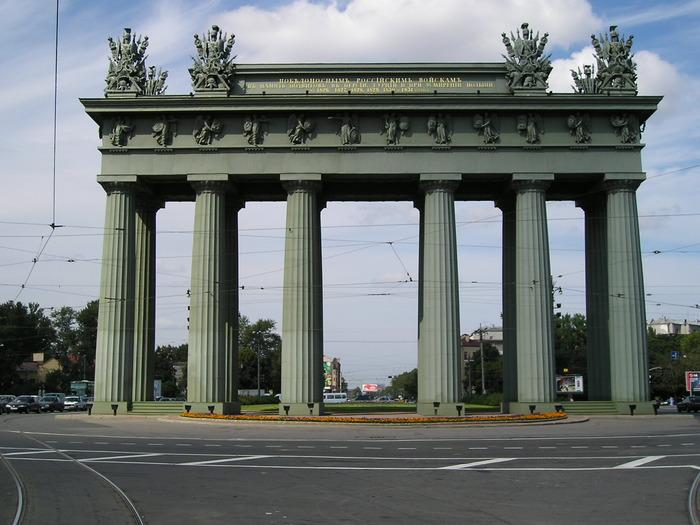 Московские ворота. Арх. Василий Петрович Стасов (1769-1848)