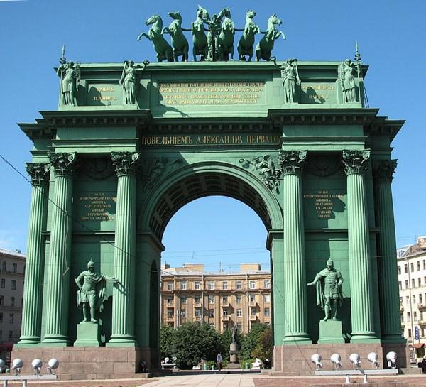 Нарвские ворота. Арх. Василий Петрович Стасов (1769-1848)