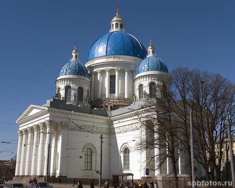 Свято-Троицкий Измайловский собор. Арх. Василий Петрович Стасов (1769-1848)